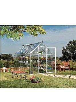 Palram Harmony 6 X 8Ft Greenhouse - Silver