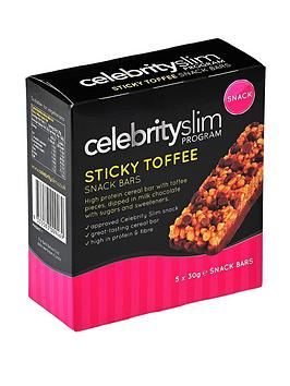 celebrity-slim-sticky-toffee-snack-bar-5-pack