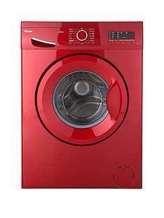 Swan SW2051R 7kg Load, 1200 Spin Washing Machine - Red