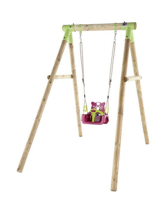Plum 3 In 1 Quoll Garden Swing Set Very Co Uk