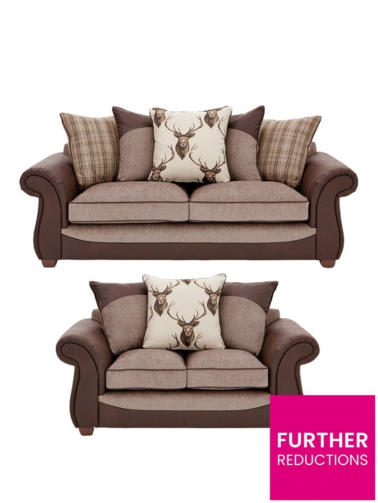 13679e7307408 Arran 3 Seater + 2 Seater Sofa Set (Buy and SAVE!)