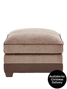 arran-fabric-and-faux-leather-footstool