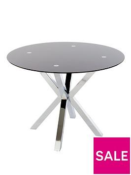 chopstick-100cm-round-glass-table-blacknbsp