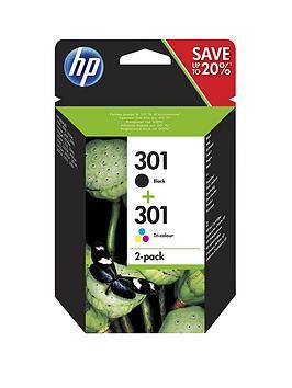 hp-301-2-pack-blacktri-color-original-ink-cartridges-n9j72ae