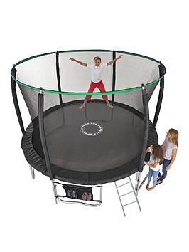 sportspower-12ft-titan-super-tube-trampoline-enclosure-ladder-amp-shoe-bag