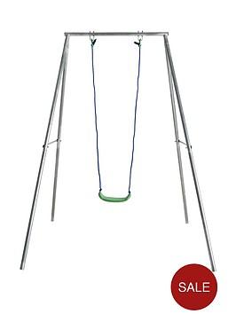 sportspower-22m-high-galvanised-single-swing