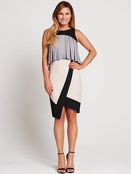 samantha-faiers-frill-asymmetric-dress