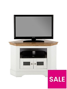 Ideal Home Wiltshire Corner TV Unit - fits up to 40 inch TV