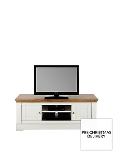 Ideal Home Wiltshire 2 Door TV Unit (fits TV up to 60 inch)