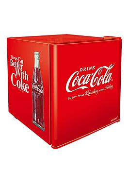 Husky Hus-El196-Hu Coca-Cola Mini Fridge