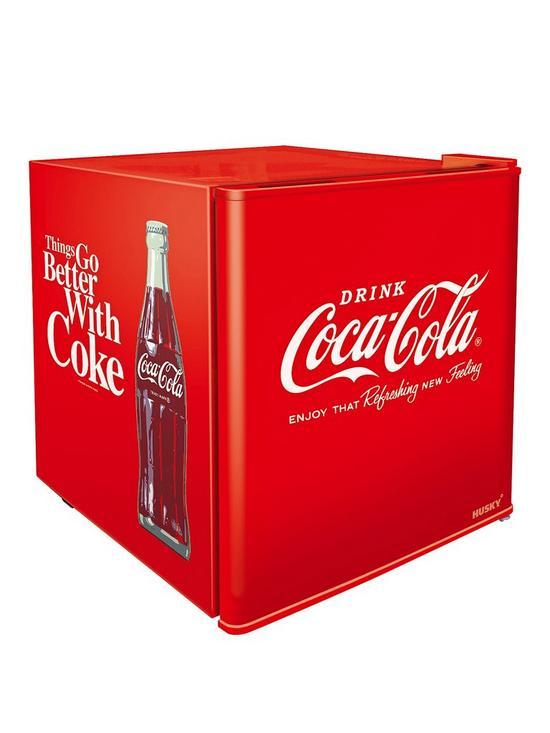Coca Cola Fridge >> Hus El196 Hu Coca Cola Mini Fridge