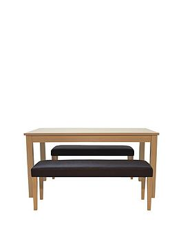 primo-120-cm-dining-table-and-2-faux-leather-benches