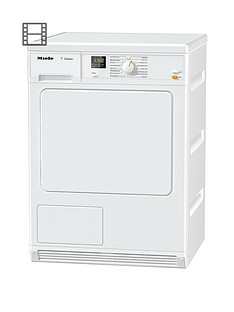 Miele TDA 140C 7kg Load Condenser Dryer with FragranceDos - White Best Price, Cheapest Prices