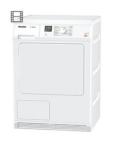 Miele TDA150C 7kg Load Condenser Dryer with Perfect Dry- White