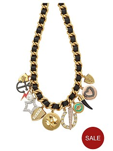 juicy-couture-multi-charm-leather-and-chain-necklace