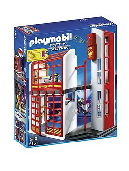 playmobil-fire-station-with-alarm