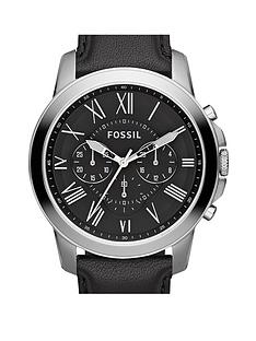 fossil-grant-leather-mens-watch