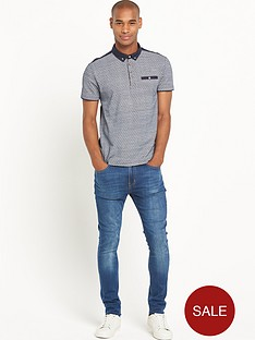 goodsouls-hexagon-printnbsppolo-shirt