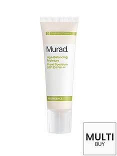 murad-resurgence-age-balancing-moisture-broad-spectrum-spf-30-panbspamp-free-murad-peel-polish-amp-plump-gift-set