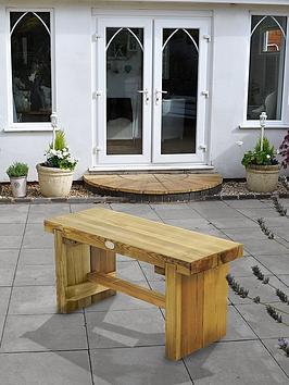 forest-garden-double-sleeper-bench-09m-long