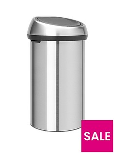 brabantia-finger-proof-touch-bin-60-litre-matt-steel