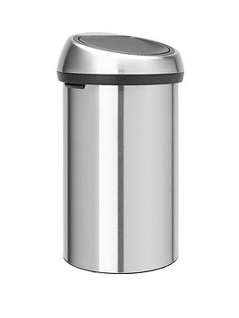 brabantia-finger-proof-touch-bin-60-litre-matt-steel