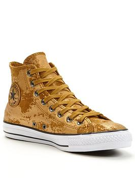 Converse CTAS Leather Hardware Hi-top Plimsolls