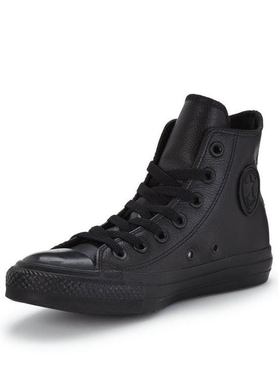 be62b01b25c3 Converse Chuck Taylor All Star Leather Hi-Tops