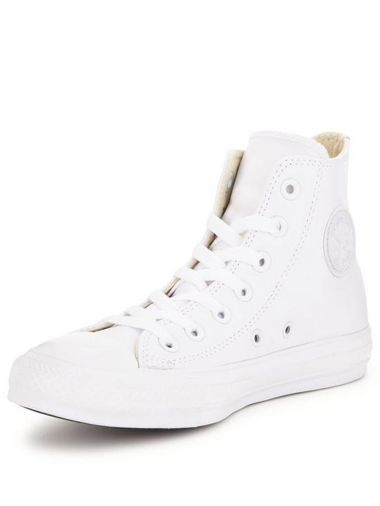e7266441c2ec Converse Chuck Taylor All Star Leather Hi-Tops