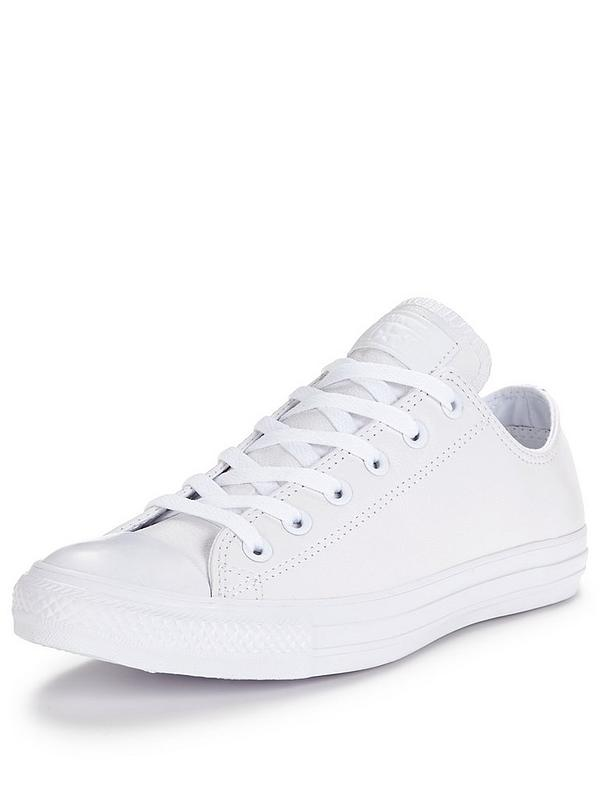Converse Chuck Taylor All Star Leather Ox | very.co.uk