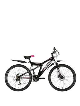 Image of Boss Cycles Stealth Full Suspension Ladies Bike 18 Inch Frame, Women