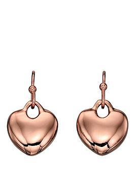 fiorelli-rose-gold-tone-heart-drop-earrings