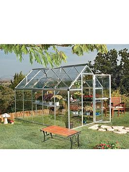 Palram Harmony 6 X 10Ft Greenhouse - Silver