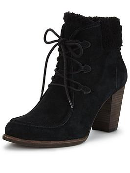 Ugg Australia Analise Shearling Lace Up Ankle Boot