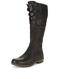 ugg-australia-elsa-leather-lace-front-knee-boot
