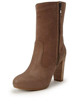 Ugg Australia Athena Fold Down Suede Boot