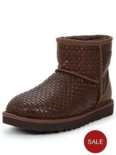 ugg-australia-classic-mini-leather-woven