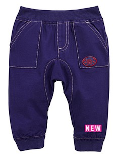 ladybird-baby-boys-2-pack-woven-pull-on-pants