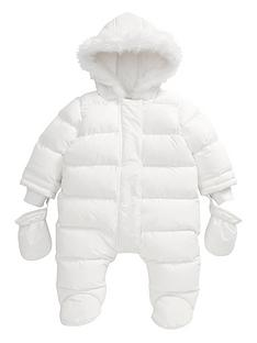 mamas-papas-girls-welcome-to-the-world-quilted-pramsuit