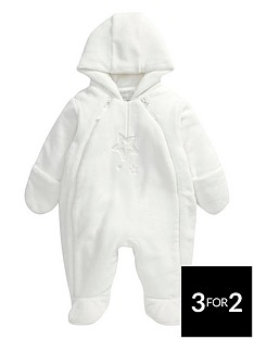 mamas-papas-mamas-amp-papas-unisex-welcome-to-the-world-fur-pramsuit