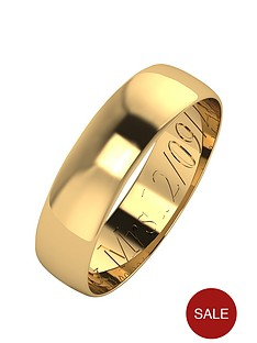 love-gold-personalised-9-carat-yellow-gold-d-shaped-wedding-band-5mm