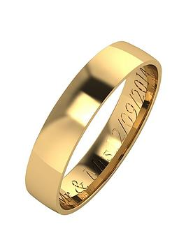 love-gold-personalised-9-carat-yellow-gold-court-wedding-band-4mm