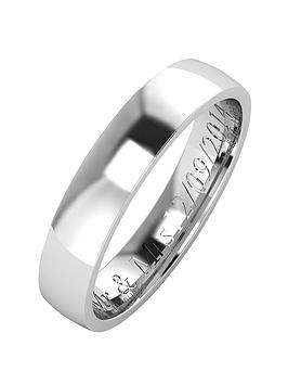the-love-silver-collection-personalised-argentium-silver-wedding-band-4mm
