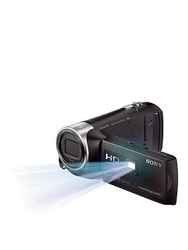 Sony Hdr Pj410 Full Hd Handycam Camcorder With Built-In Projector - Black