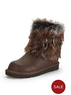 ugg-australia-girls-elle-leather-boots