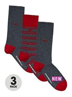 emporio-armani-emporio-armani-3pk-stripeplain-sock