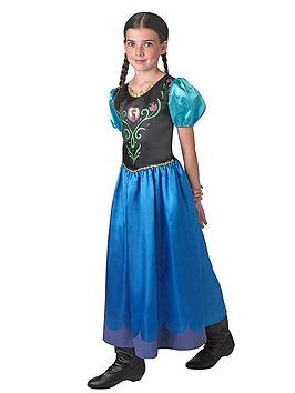 Photo of Disney frozen girls classic anna - child costume - age 9-14