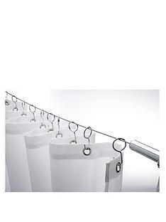 croydex-wireline-with-12-shower-curtain-hooks