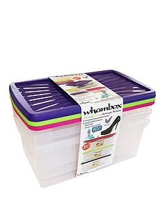 wham-9-litre-plastic-storage-boxes-set-of-3