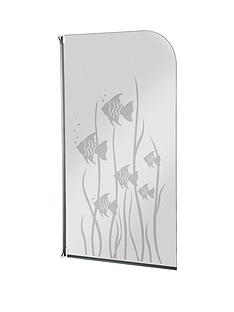 aqualux-half-framed-radius-fish-design-bath-screen